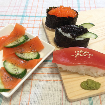 刺身そっくり!寿司ネタ蒟蒻
