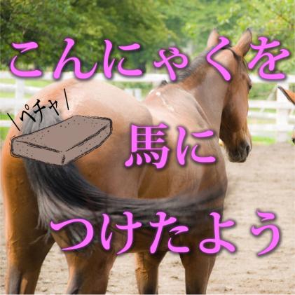 蒟蒻×馬=グンマー!!