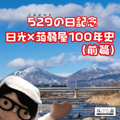 日光×蒟蒻屋100年史(前)