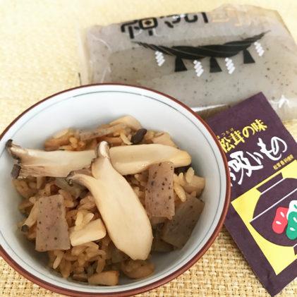 エリンギ&蒟蒻de松茸ご飯